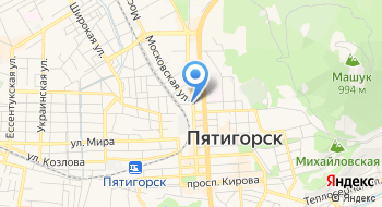 Военный Комиссариат г. Пятигорск и г. Лермонтов, МО РФ на карте