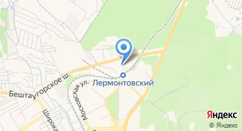 Краевой кожно-венерологический диспансер филиал г. Пятигорск на карте