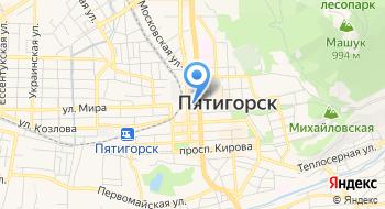 Отделение почтовой связи Пятигорск 357502 на карте