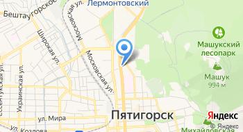 ГБУЗ Ставропольского края Родильный дом города Пятигорск на карте