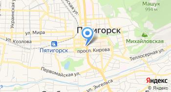Московский Индустриальный банк, Дополнительный офис отделение в г. Пятигорске на карте