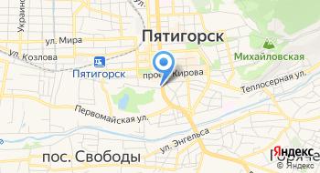 Международный Финансовый клуб, Пятигорский филиал на карте