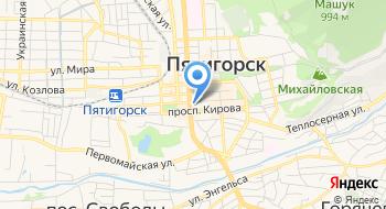 Пожарный Надзор по г. Пятигорску, ГУ МЧС РФ на карте