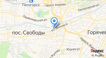 Педиатрическое отделение №5 Детской Городской Больницы, МБУЗ на карте