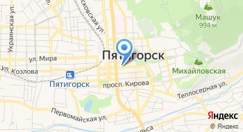 Служба на Кавминводах Управления ФСБ России по Ставропольскому краю на карте