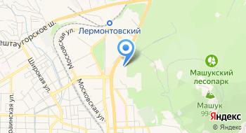 Общежитие № 5 Пятигорского государственного университета на карте