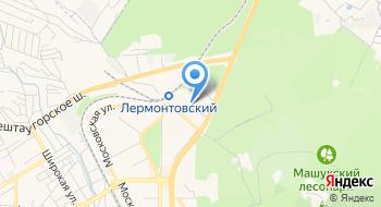Салон эротического массажа Relax в Пятигорске на карте
