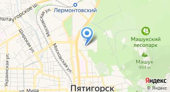 Общежитие №4 Пятигорского Медико-Фармацевтического Института, ГБОУ ВПО на карте