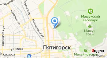 Кавказкурортпроект на карте
