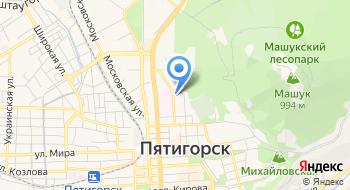 ГУ – управление ПФР по городу-курорту Пятигорску на карте