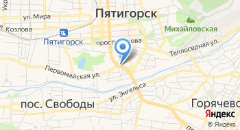 Газарян К.С., ИП на карте