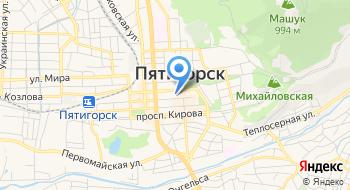 Отдел Рекламы Администрации г. Пятигорск, МУ на карте