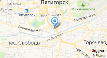 Отель Ориент Пятигорск на карте