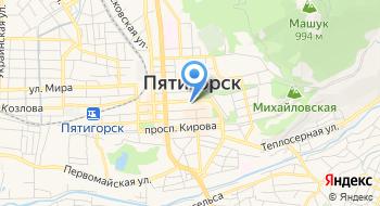 Мбук централизованная библиотечная система города Пятигорска на карте
