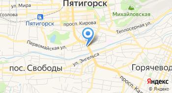 Пятигорский центр Экспертиз и Оценки на карте