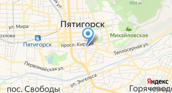 ГБУЗ СК Кспк Сангвис г. Пятигорск на карте