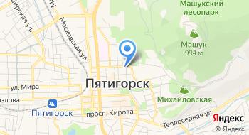 Пятигорская и Черкесская епархия на карте