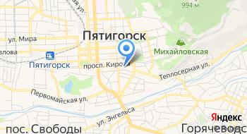 Дворец Пионеров и Школьников, Мбоу ДОД на карте