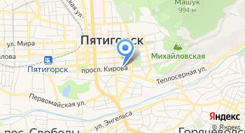 Пятигорский драматический камерный театр Крупный план на карте