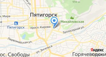 Служба Спасения Города Пятигорска на карте