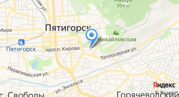 Центральное бюро путешествий и экскурсий на карте