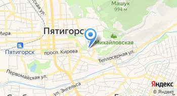 Собор Спасителя, исцелившего расслабленного, в Пятигорске на карте