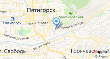 Санаторий Зори Ставрополья на карте