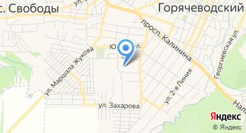 Ставропольниигипрозем Филиал на карте