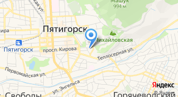 Пятигорский ГОСП на карте