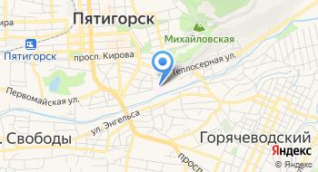 ФГУ управление Федеральной Службы Безопасности на карте