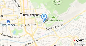 Пятигорский Государственный НИИ Курортологии ФМБА России ФГБУ на карте