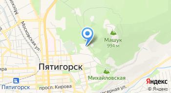Санаторий Пятигорский Нарзан на карте