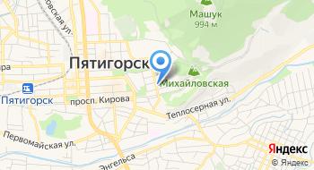 Пушкинский Дом на Кавказе на карте