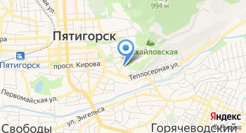 Отделение почтовой связи Пятигорск 357501 на карте