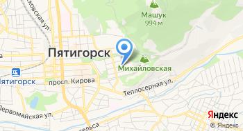 Хостел Жить просто Пятигорск на карте