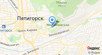 Курортная поликлиника имени Пирогова с пансионатом с лечением Искра на карте