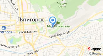 ЛПУП Пятигорская Бальнеогрязелечебница на карте