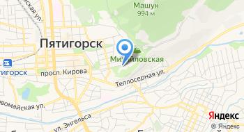 ГБУК Театр оперетты Пятигорск на карте