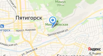 Ставропольский Государственный театр Оперетты на карте