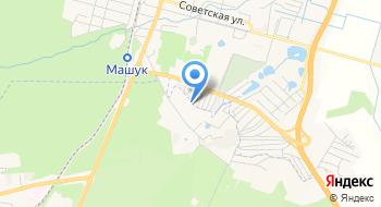 Отделение почтовой связи Пятигорск 357506 на карте