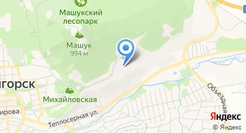Санаторий Пятигорье на карте