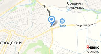 Региональный центр НТВ, плюс на карте