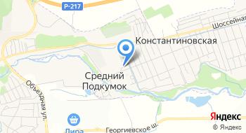 Пятигорский кирпичный завод на карте