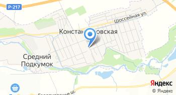 Горячеводский, СПК на карте