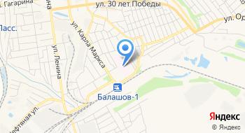 Балашовская Районная больница на карте