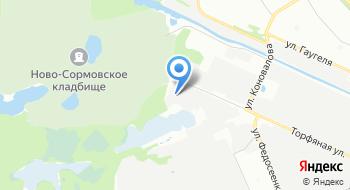 Пиломатериалы Декабрь НН на карте