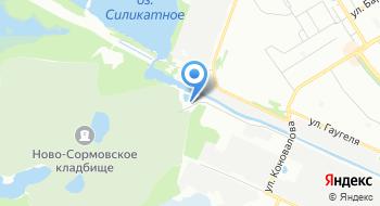Ново-Сормовское кладбище на карте