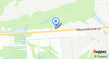 Ауди центр на Московском на карте