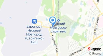 Отель Омега на карте