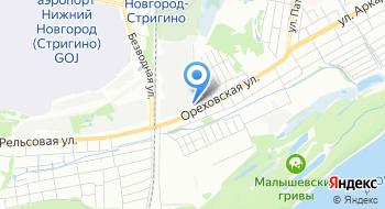 Интеравтоцентр на карте